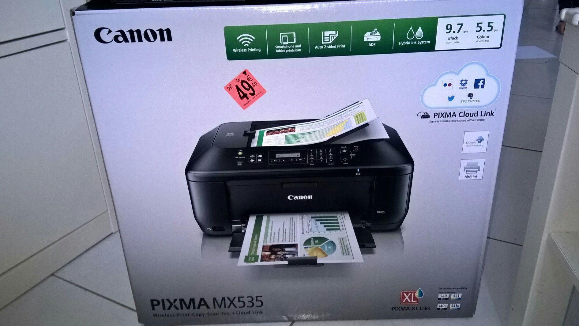 Imprimante à jet d'encre Canon  MX535