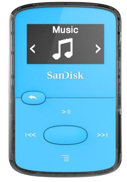 Lecteur MP3 Sandisk Clip Jam 8 Go - Bleu ou Orange