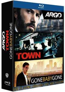 Coffret Blu-ray Ben Affleck : Argo + The Town + Gone Baby Gone