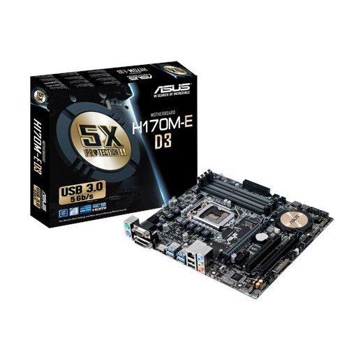 Carte mère Asus H170M-E D3 Intel Micro ATX Socket 1151