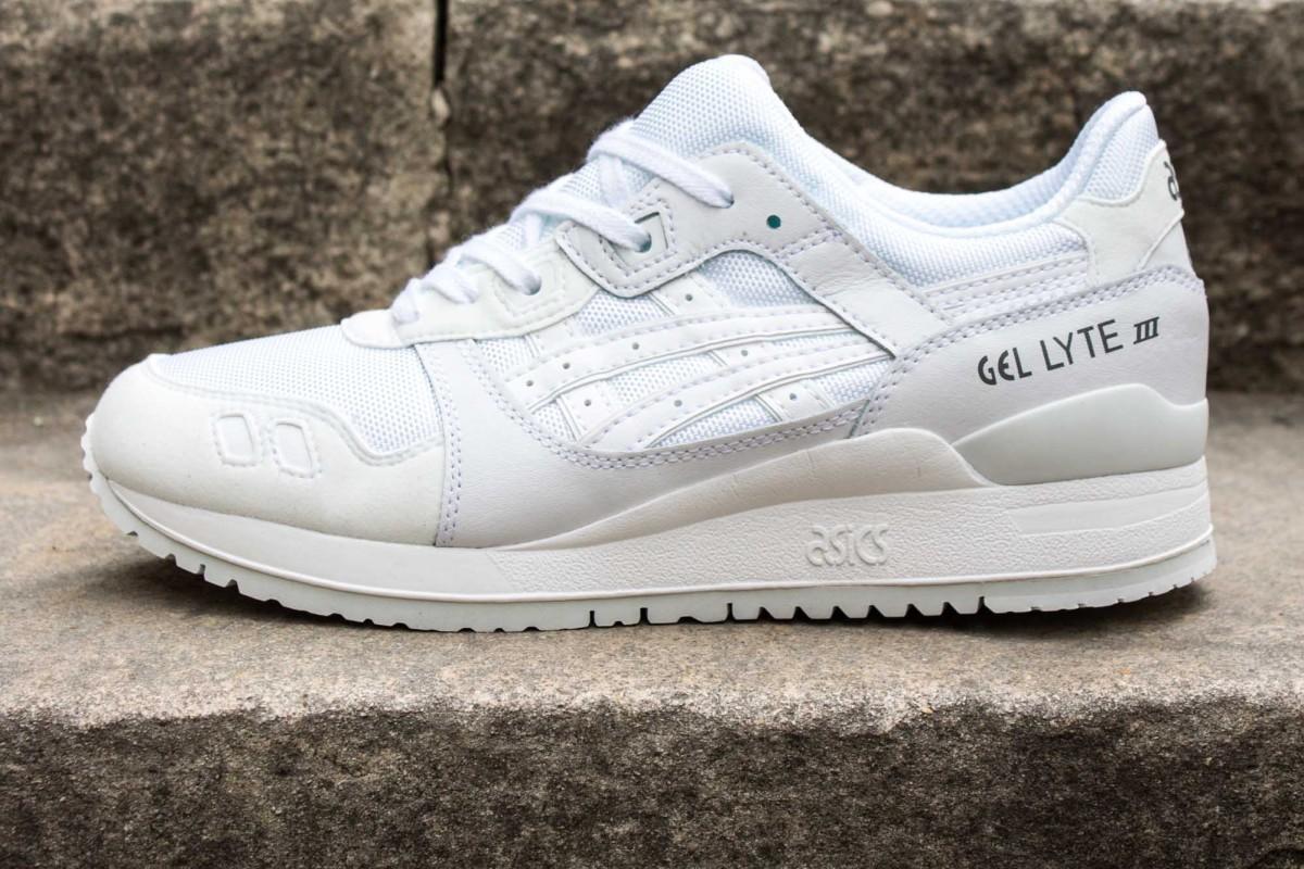 Chaussures Asics Gel Lyte III - Blanc