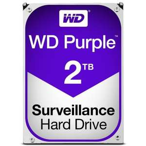 """Disque dur interne 3.5"""" WD Purple - 2 To, 64 Mo"""