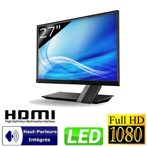 """EcranPC 27"""" Acer S275HLbmii LED Full HD avec dalle IPS"""