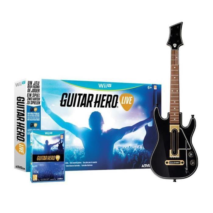 Guitar Hero Live sur Wii U et PS3