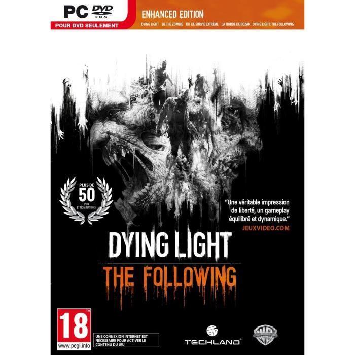 Sélection de jeux vidéo en promotion - Ex : Dying Light : The Following - Enhanced Edition sur PC