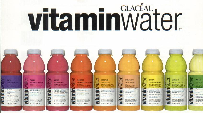 Bouteille de VitaminWater 100% remboursé