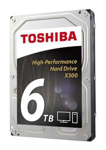 """Disque dur interne 3.5"""" Toshiba X300 (7200 Trs/min) - 6 To"""