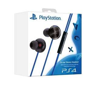 Ecouteur Intra-auriculaire Sony pour PS4 / PS Vita