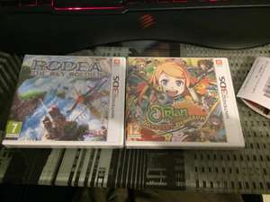 Etrian Mystery Dungeon et Rodea The Sky Soldier sur 3DS