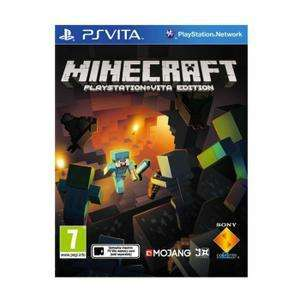 Minecraft sur PS Vita (via l'application)