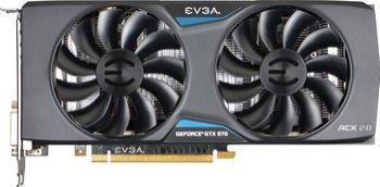 Carte graphique EVGA GeForce GTX 970 Superclocked ACX 2.0 - 4 Go (via 25€ d'ODR) + Bombshell offert