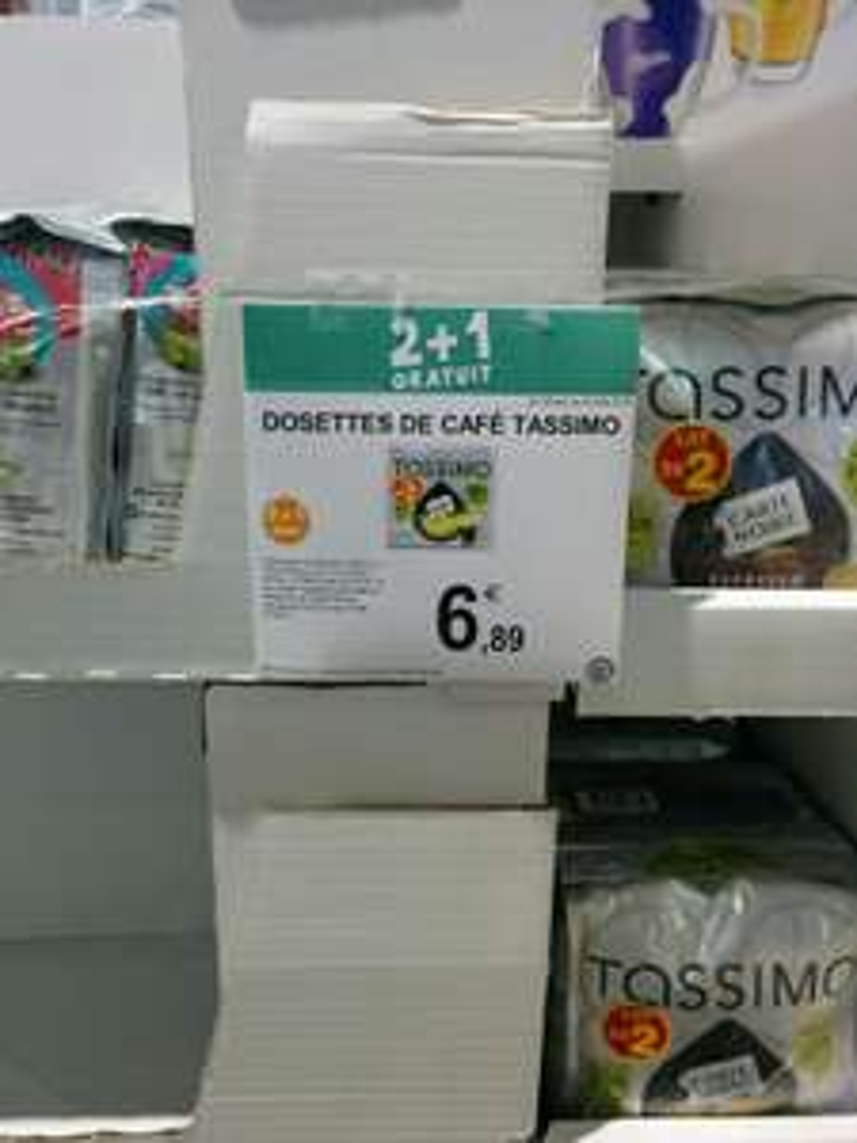 6 Packs de 16 Dosettes Tassimo - 6x16 dosettes