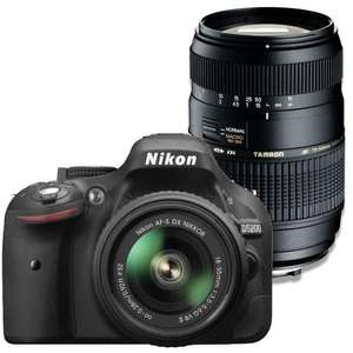Réflex Nikon D5200 + 18-55mm + Objectif Tamron 70-300mm
