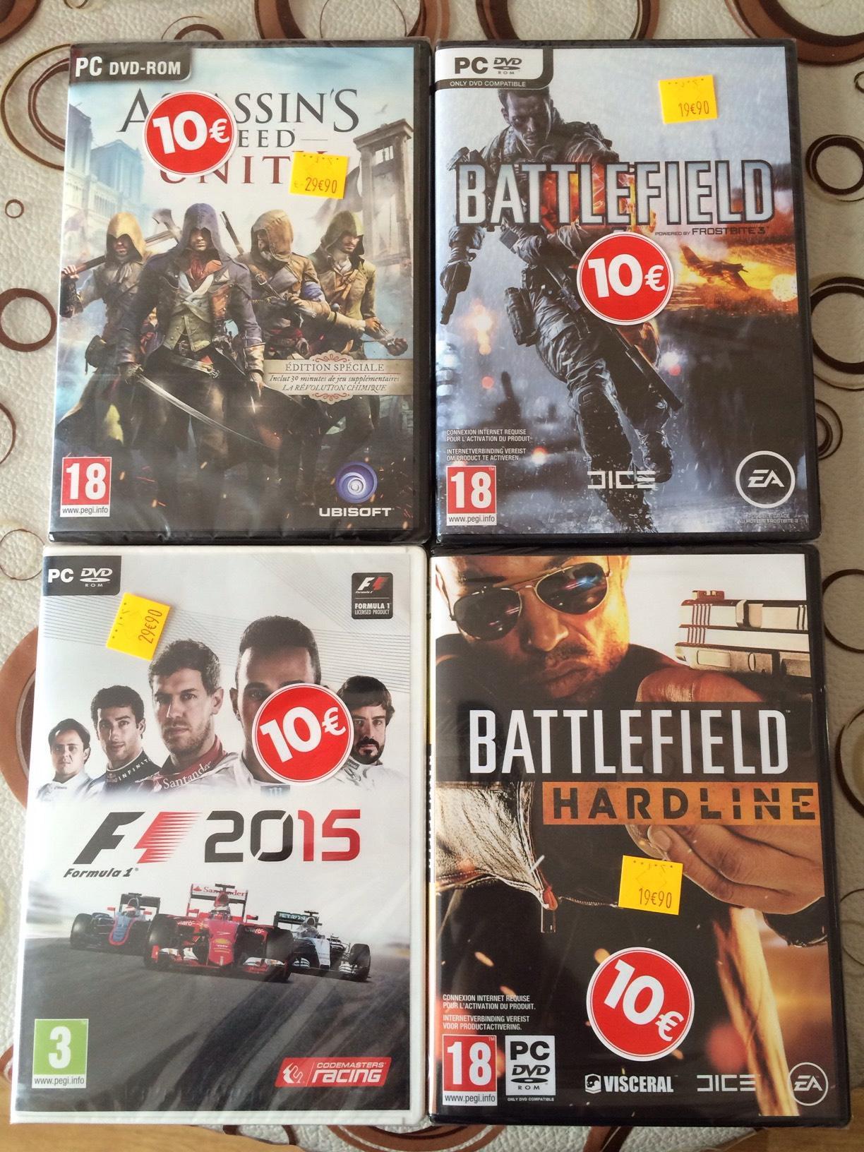 Sélection de jeux PC en promo  - Ex : Battlefield 4