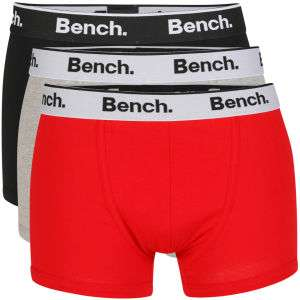 3 Boxers Marque Bench (Taille M)