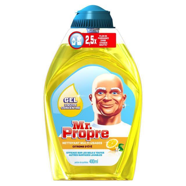 Gel nettoyant concentré Mr Propre 400ml