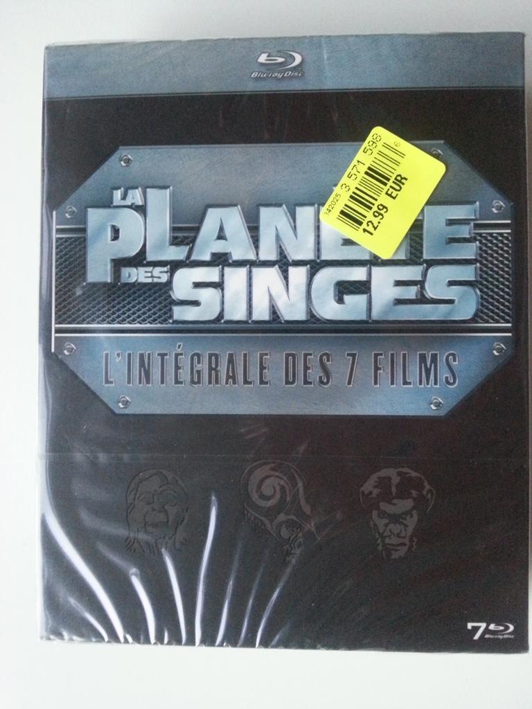 Coffret Blu-ray Intégrale La Planète des Singes