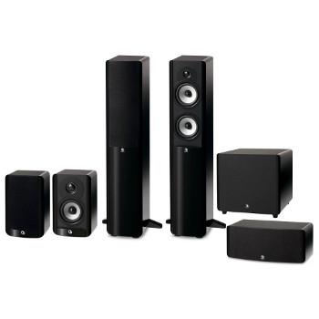 Pack d'enceintes Home-Cinéma 5.1 Boston Acoustics série A Hight Gloss noire + livraison par transporteur offerte