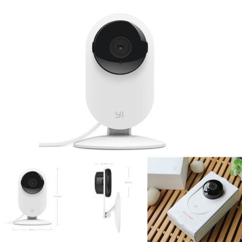 Caméra de surveillance Xiaomi XiaoYi avec vision nocturne - 720p