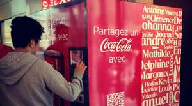 2 mini canettes gratuites personnalisables de Coca