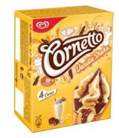 Cônes glacés Miko Cornetto - Vanilla Shake
