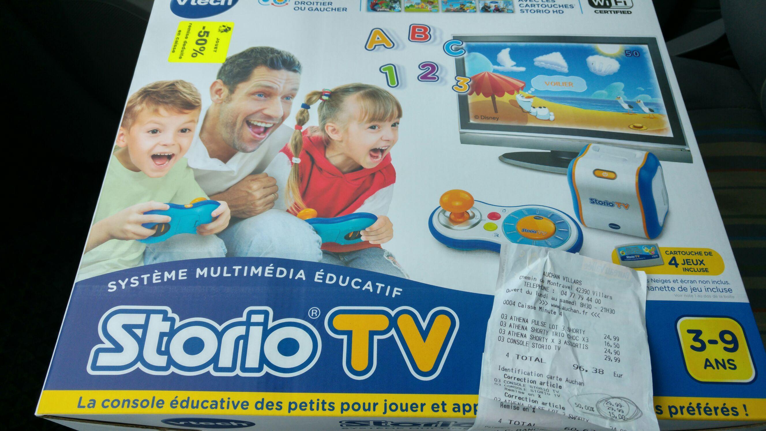 Console Vtech Storio TV