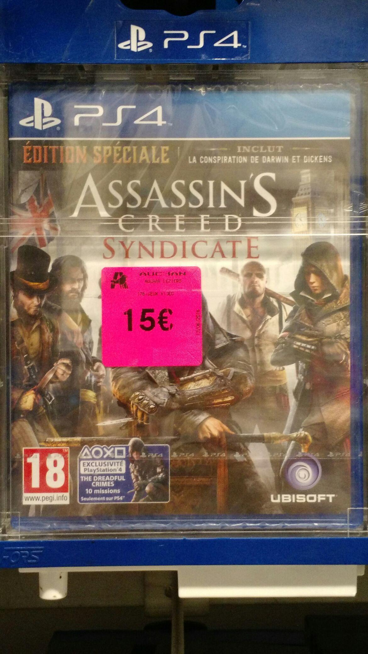 Promotion sur une sélection de jeux (neuf et d'occasion) - Ex: Assassin's Creed Syndicate Edition Spéciale sur PS4