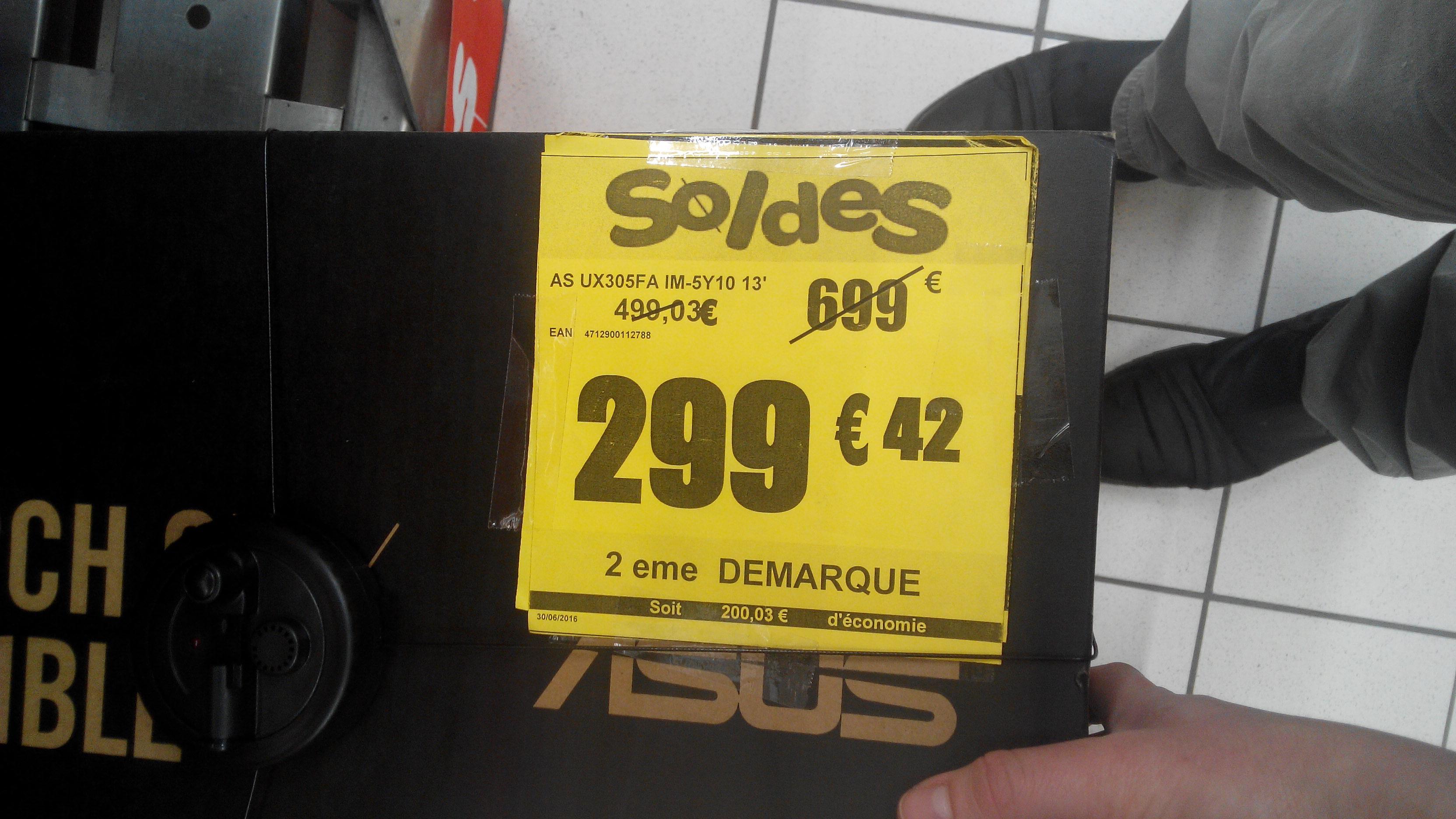"""PC Portable 13"""" Asus Zenbook  UX305FA - Intel M5Y10, 4 Go de Ram, 128 Go SSD"""