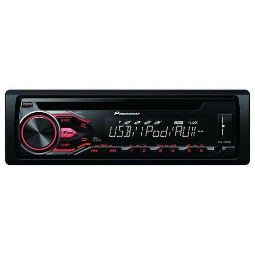 Autoradio Pionner DEH-2800UI - 4x50W, Port USB, CD