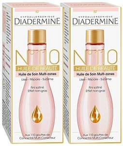 Lot de 2 huiles de beauté Diadermine N°110 - 100 ml