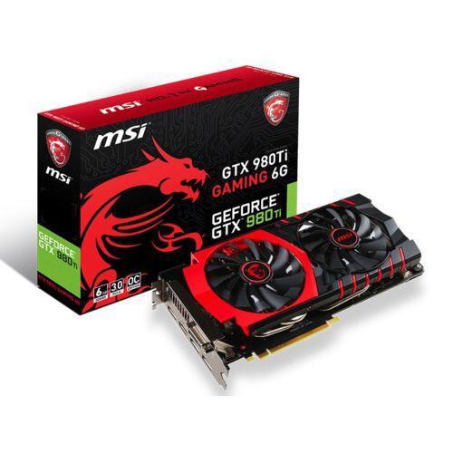Carte Graphique MSI GeForce GTX 980Ti Gaming 6GB