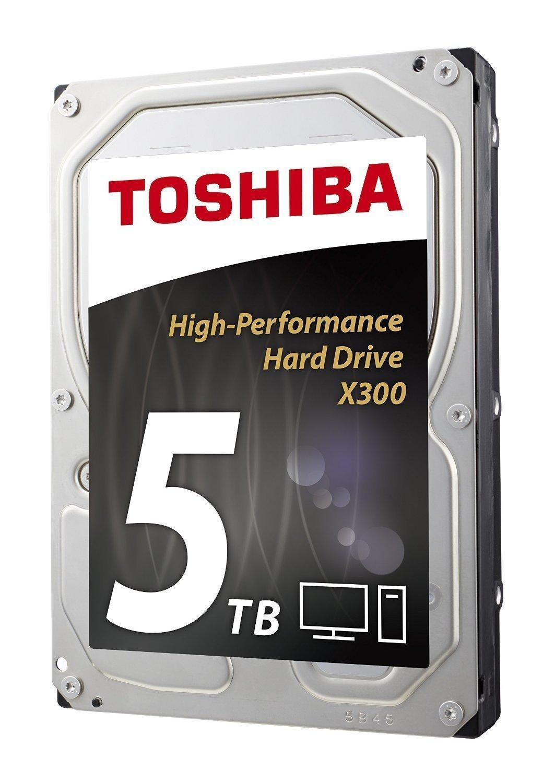 Disque dur interne Toshiba X300 - 7200 TPM, 5 TO