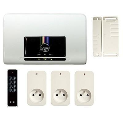 Pack de démarrage HomeWizard - Contrôleur domotique + Prises + télécommande