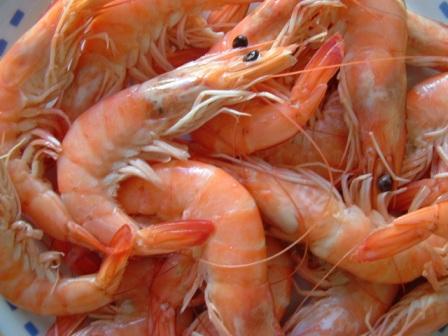 1 caisse de crevettes achetée = 1 autre à retirer gratuitement la semaine suivante (et autres produits)