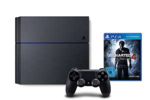 Pack console Sony PlayStation 4 (1 To, châssis C) + Uncharted 4: A Thief's End