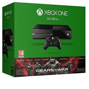Pack console Xbox One 500 Go + Gears Of War (Ultimate Edition) ou Fifa 16