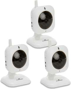 Pack de 3 caméras Bluestork BS-HOME-CAM IP WiFi avec application tablette et smartphone - Via Buyster