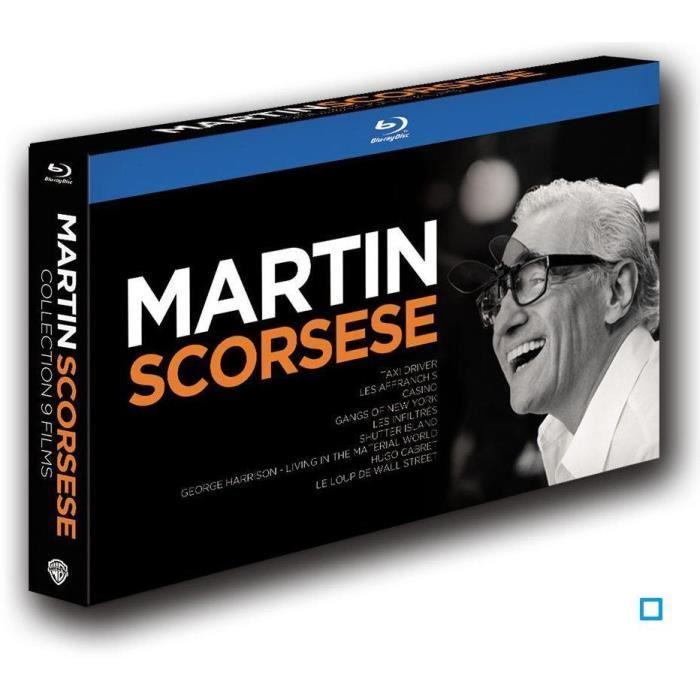 Coffret Blu-Ray : Martin Scorsese, 9 films - Édition Limitée