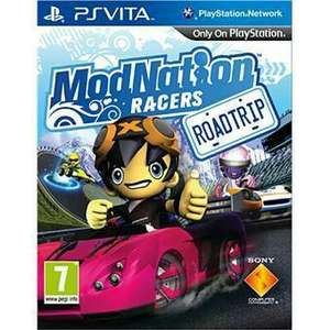 ModNation Racers - Road Trip sur PS Vita