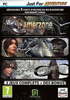 Pack Syberia (L'Amerzone + Syberia 1 & 2 + B.O. de Syberia 2) sur PC