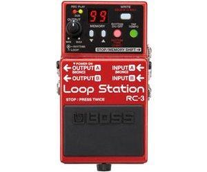 Pédale à effets Boss RC-3 - Loop Station