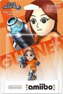 Sélection de figurines Nintendo amiboo en promotion - Ex : Super Smash Bros. Collection - Mii Gunner