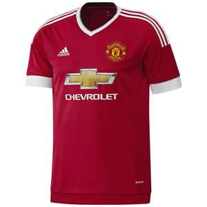 Maillot de football Adidas - Manchester United 15/16 (taille S)
