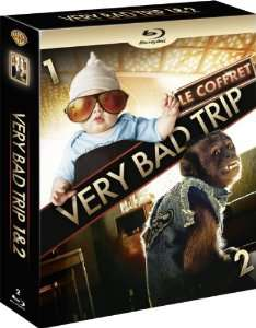 Coffret Very Bad Trip 1 et 2 Blu-Ray