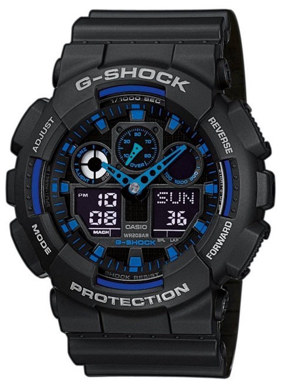 Montre Homme Casio G-Shock GA-100-1A2ER