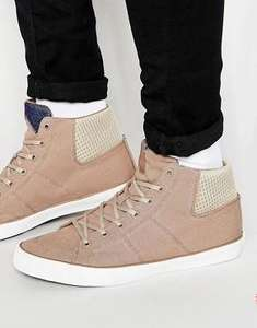 Baskets montantes Jack & Jones Deeside - Beige