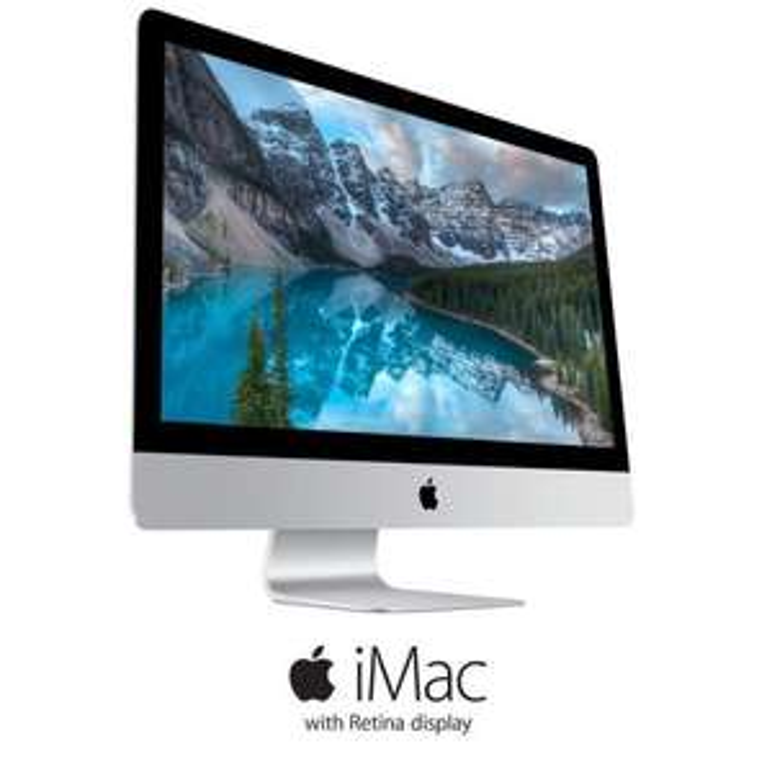 "PC de bureau 27"" Apple iMac MF886F/A  Retina 5K - 8Go de RAM - Mac OS X Yosemite - Intel Core i5 - AMD Radeon R9 - Disque Dur 1To"