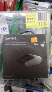 Microsoft Souris Bluetooth Wedge Touch Mouse