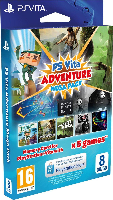 Adventure Games Mega Pack pour PS Vita + carte mémoire 8 Go
