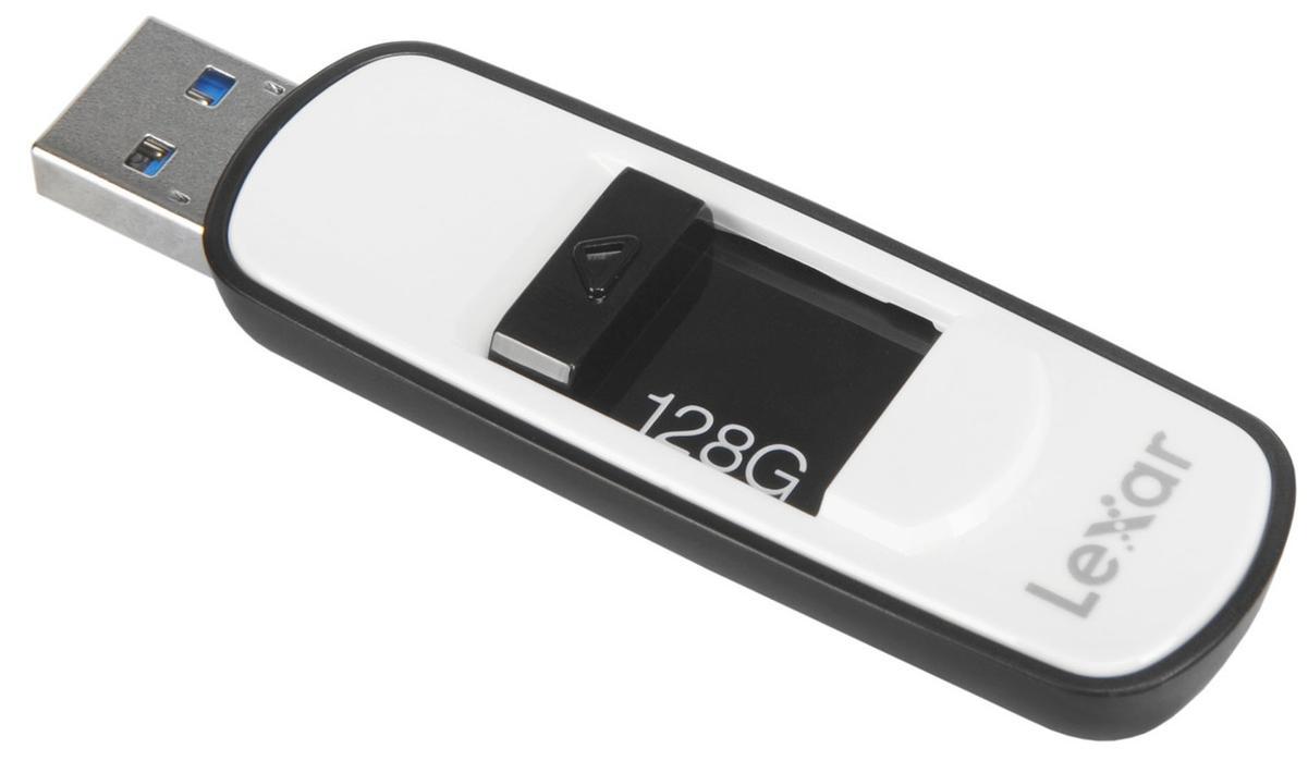 Clé USB 3.0 Lexar JumpDrive S75 (jusqu'à 150 Mo/s) - 128 Go